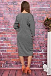 Платье длинное нарядное деловое У8039