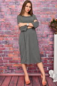Платье длинное нарядное деловое У8038