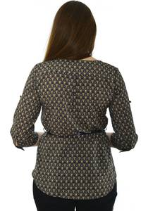 Блуза офисная нарядная Н4777