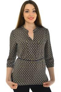 Блуза офисная нарядная Н4795