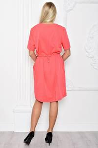 Платье короткое красное вечернее Т1230