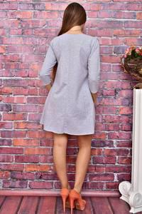 Платье короткое повседневное с принтом У8028
