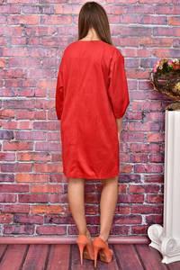 Платье-туника короткое однотонное У8027