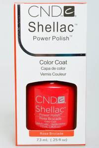 CND Shellac Rose Brocade Н2753