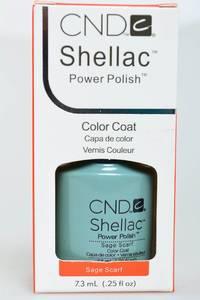 CND Shellac Sage Scarf Н2756