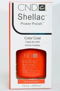 CND Shellac Fane Vermillion Н2761