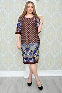 Платье короткое классическое нарядное Р1305