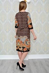 Платье короткое классическое нарядное Р1306