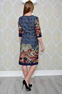 Платье короткое повседневное нарядное Р1307