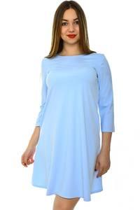 Платье короткое голубое летнее Н4426