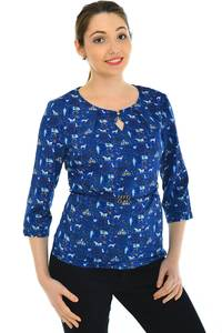 Блуза офисная нарядная Н4787
