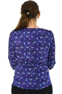 Блуза офисная нарядная Н4789