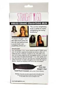 Расческа для выпрямления волос STRAIGHT'N'GO П6930