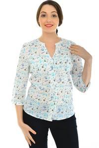 Блуза летняя праздничная Н4804