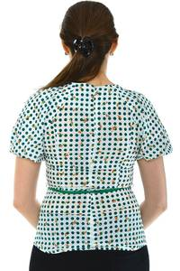 Блуза летняя нарядная Н4802