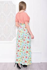 Платье длинное летнее повседневное С0936
