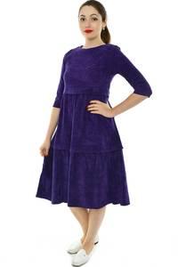Платье короткое классическое однотонное Н8364