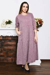 Платье длинное зимнее вечернее Р4205