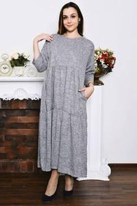 Платье длинное вечернее зимнее Р4209