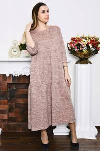Платье длинное вечернее зимнее Р4211