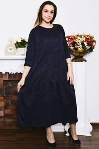 Платье длинное вечернее зимнее Р4212