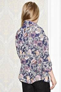 Рубашка с принтом с коротким рукавом С0996