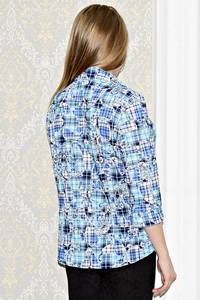 Рубашка с принтом с коротким рукавом С0997