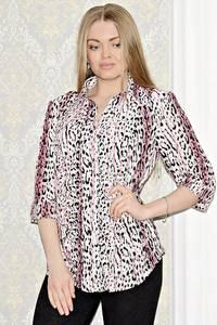 Рубашка с принтом с коротким рукавом С0999