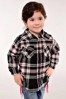 Рубашка 13011(чер.)