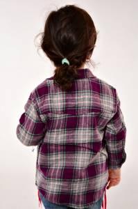 Рубашка 13011(феолет.)
