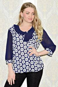 Блуза вечерняя нарядная С1032