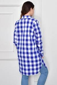 Рубашка в клетку с длинным рукавом Ф9634