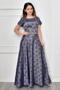 Платье длинное нарядное Ф9635