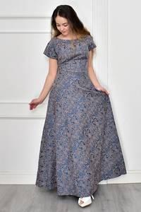 Платье длинное нарядное Ф9636