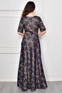 Платье длинное нарядное Ф9640