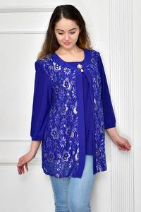 Блуза нарядная Ф9649