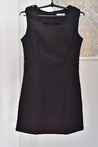 Платье короткое черное Я1030