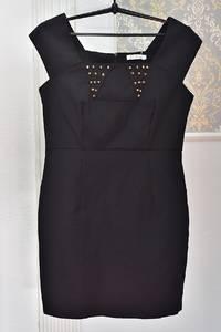 Платье короткое черное Я1031