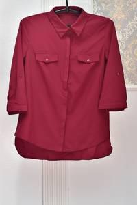 Рубашка однотонная Я1038