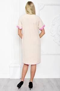 Платье короткое элегантное белое С1297