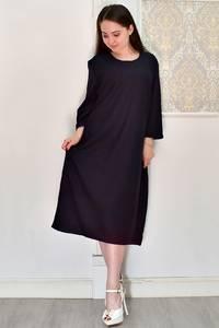 Платье короткое однотонное Я6678