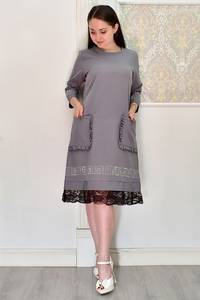 Платье короткое современное Я6691