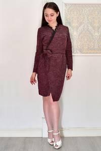 Платье короткое с длинным рукавом Я6692