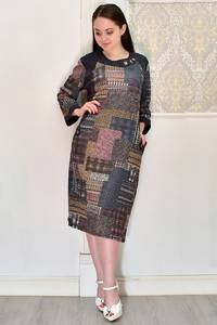 Платье короткое повседневное Я6696