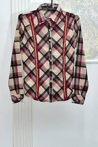Рубашка с длинным рукавом А08413