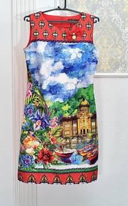 Платье короткое летнее А08417
