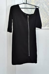 Платье короткое черное А08418