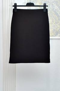Юбка черная А08435