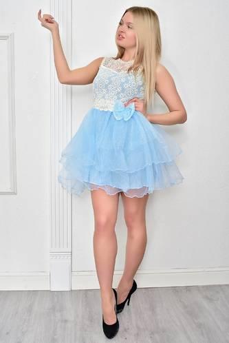 Платье короткое коктейльное летнее Ф4848