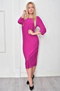 Платье короткое однотонное Ф4849
